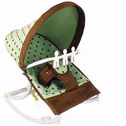 Hoohobbers Baby Rocker, Dots Green