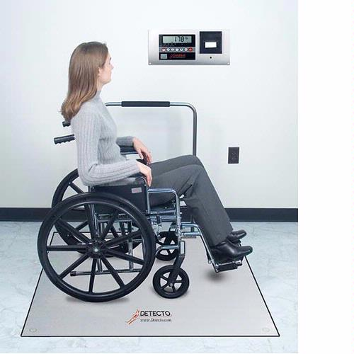 Detecto FH Series  In-Floor Medical Scales