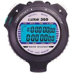 Ultrak 360 30 Lap Memory - 2 Line Display Electro Luminescent Sports Stopwatch