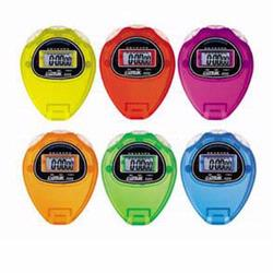 Ultrak 320-SET Pack of 6 Ultrak 320 Economical Sports Stopwatches In Rainbow Colors