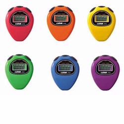 Ultrak 310-SET Pack of 6 Ultrak 310 Economical Sports Stopwatches With Event Timers In Rainbow Colors