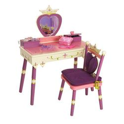 Levels of Discovery LOD20021 Princess Vanity Table & Chair Set