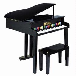 Schoenhut 379B 37 Key Concert Grand Piano - Black