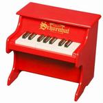 Schoenhut 1822R 18 Key My First Piano - Red