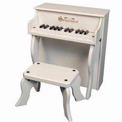 Schoenhut 2505W 25 Key Elite Spinet - White