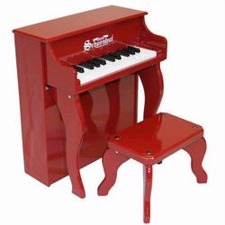 Schoenhut 2505R 25 Key Elite Spinet - Red