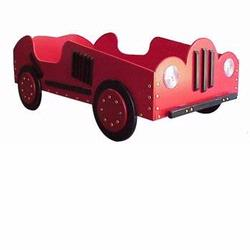 Old Style - Race Car Toddler Bed - Red