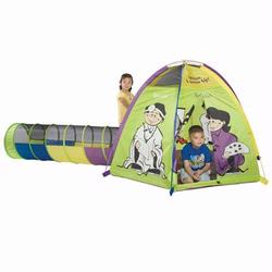 Pacific Play Tents 19400 WHEN I GROW UP TENT & TUNNEL COMBO