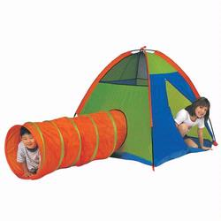 Pacific Play Tents 30414 HIDE ME - TENT & TUNNEL COMBINATION - NEON