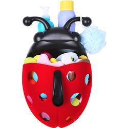 Boon 451 Bug Pod Lady Bug Bath Toy Scoop, Drain and Storage