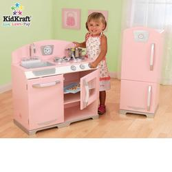 KidKraft 53160 Pink Retro Kitchen