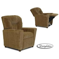 Dozydotes 10154 Children's Recliner with Cup Holder - Hot Chocolate