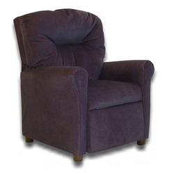 Dozydotes 10142 Micro Suede Contemporary Childrens Recliner - Glamorous Grape