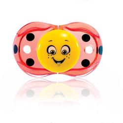 RaZBaby 007LB Keep it Kleen Pacifier - Lola Ladybug