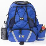 Baby Sherpa 07001 Diaper Backpack - Royal Blue