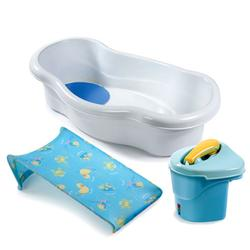 Summer Infant 08290 Newborn to Toddler Bath Center and Shower - Blue