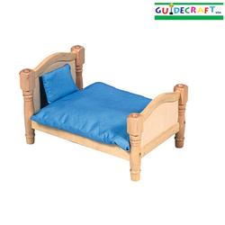 Guidecraft 98110 Doll Bed - Natural