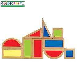 Guidecraft 3015 Rainbow Blocks™ Set - 10 Pcs.
