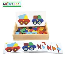 Guidecraft 5082 Animal Train Sort and Match