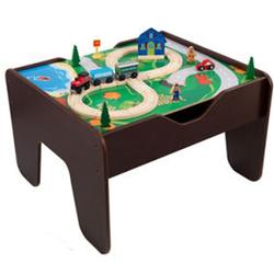 KidKraft 17577 2-In-1 Activity Table- Lego Compatible Blocks