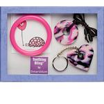 Teething Bling GSPEN-PCGS Baby Teething Gift Set, Pink Camouflage