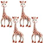 Vullie 616324-4 Sophie the Giraffe Teether (Set of 4!)