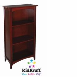 KidKraft 14031 Avalon Tall Bookshelf, Cherry