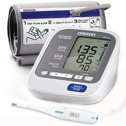 Omron BP760 7 Series™ Upper Arm Blood Pressure Monitor with Thermometer
