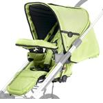 Mutsy 4Rider- Seat Only in  Team Lime