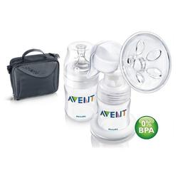 Avent SCF310/13 BPA Free Single Manual Breast Pump on the Go (PP)