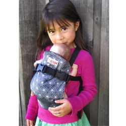 Beco TOY-PAIG, Beco Mini  Baby Carrier MINI Paige- Black