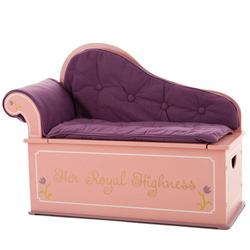 Levels of Discovery LOD20053 Princess Fainting Couch w/Storage