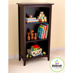 KidKraft 14043 Avalon Tall Bookshelf - Espresso