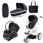 Quinny Moodd Stroller Complete Collection in Black Irony
