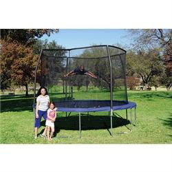 Bazoongi Kids OR1213B6C2 ORBOUNDER 12' Trampoline and Enclosure