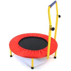 Redmon 9207 Fun and Fitness Exercise Equipment for Kids - Trampoline with Handlebar