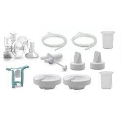 Ameda 17449 Purely Yours Replacement Parts Kit with One-Hand Manual Breastpump BPA FREE - Large (30.5mm)/ Insert (28.5mm)