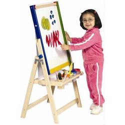 Guidecraft 51085 4-in-1 Flipping Floor Easel