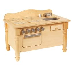 Guidecraft G98120, Doll Play Kitchen - Natural