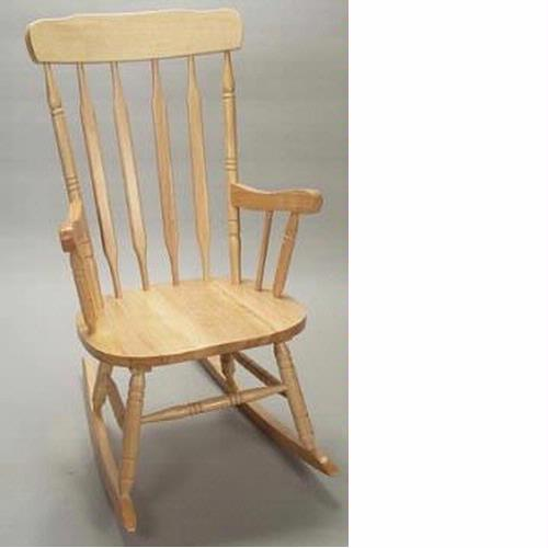 GiftMark Adult Sized Wooden Rocking Chairs