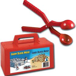Flexible Flyer Snow Fun Starter kit with one Snow Block Maker and One Snowball Maker