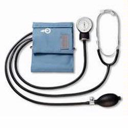 LifeSource UA-100 Aneroid Home Blood Pressure Kit with Attached Stethoscope