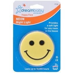 Dreambaby F1241 Happy Face Plug-In Neon Night Light