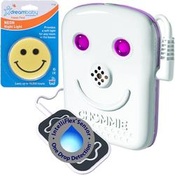 Chummie Bedwetting Alarm - Pink with Night Light
