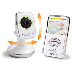 Summer Infant 28630 Baby Zoom WiFi Video Monitor & Internet Viewing