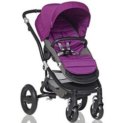 Britax Affinity Stroller in Berry and Black Frame