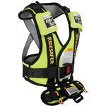 Safe Traffic Systems JD14200YWB - Ride Safer 2 Travel Vest, Large - Yellow