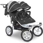 Valco Baby TRU1056, EX Twin Tri Mode Stroller - Candy Apple