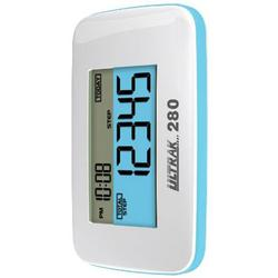 Ultrak 280WHT -  Pedometer with 3D Motion Sensor - White