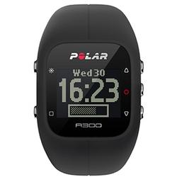 Polar - A300 Fitness and Activity Monitor w/o HR with Bag - Black